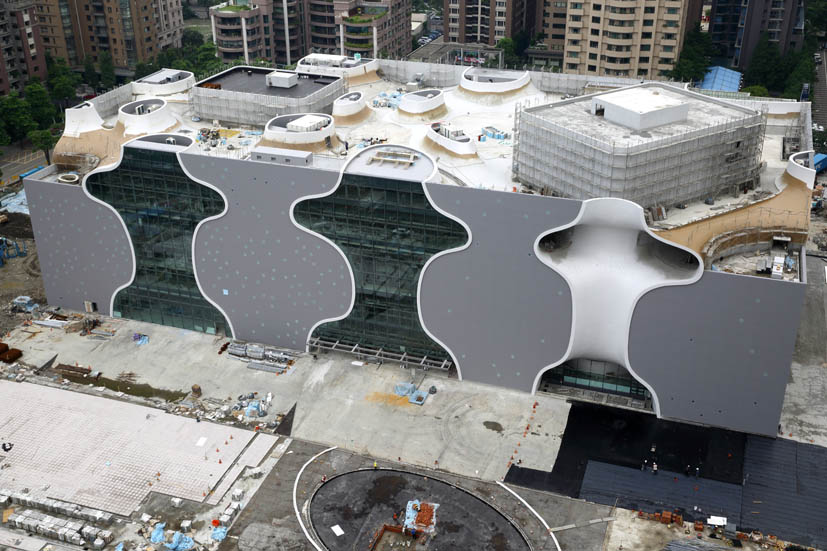 The Taichung Metropolitan Opera House by Toyo Ito