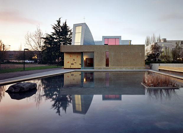 St Ignatius Chapel in Seattle by Steven Holl from our Steven Holl monograph