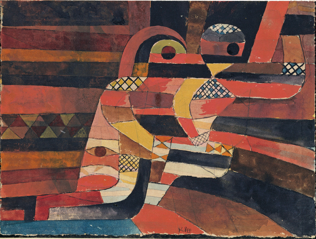 Lovers (1920) by Paul Klee, as reproduced in The Art of the Erotic