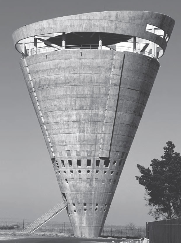 Grand Central Water Tower, Midrand, South Africa, 1996 by GAPP Architects & Urban Designers. From This Brutal World