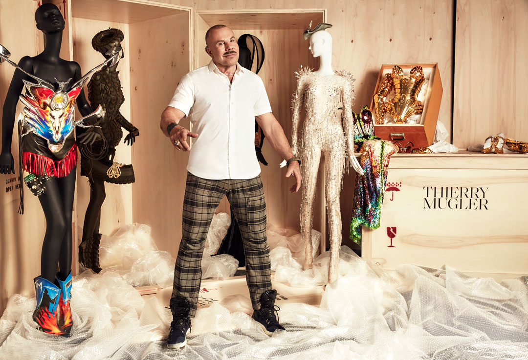 Thierry Mugler on fur, Trump and his new show and book
