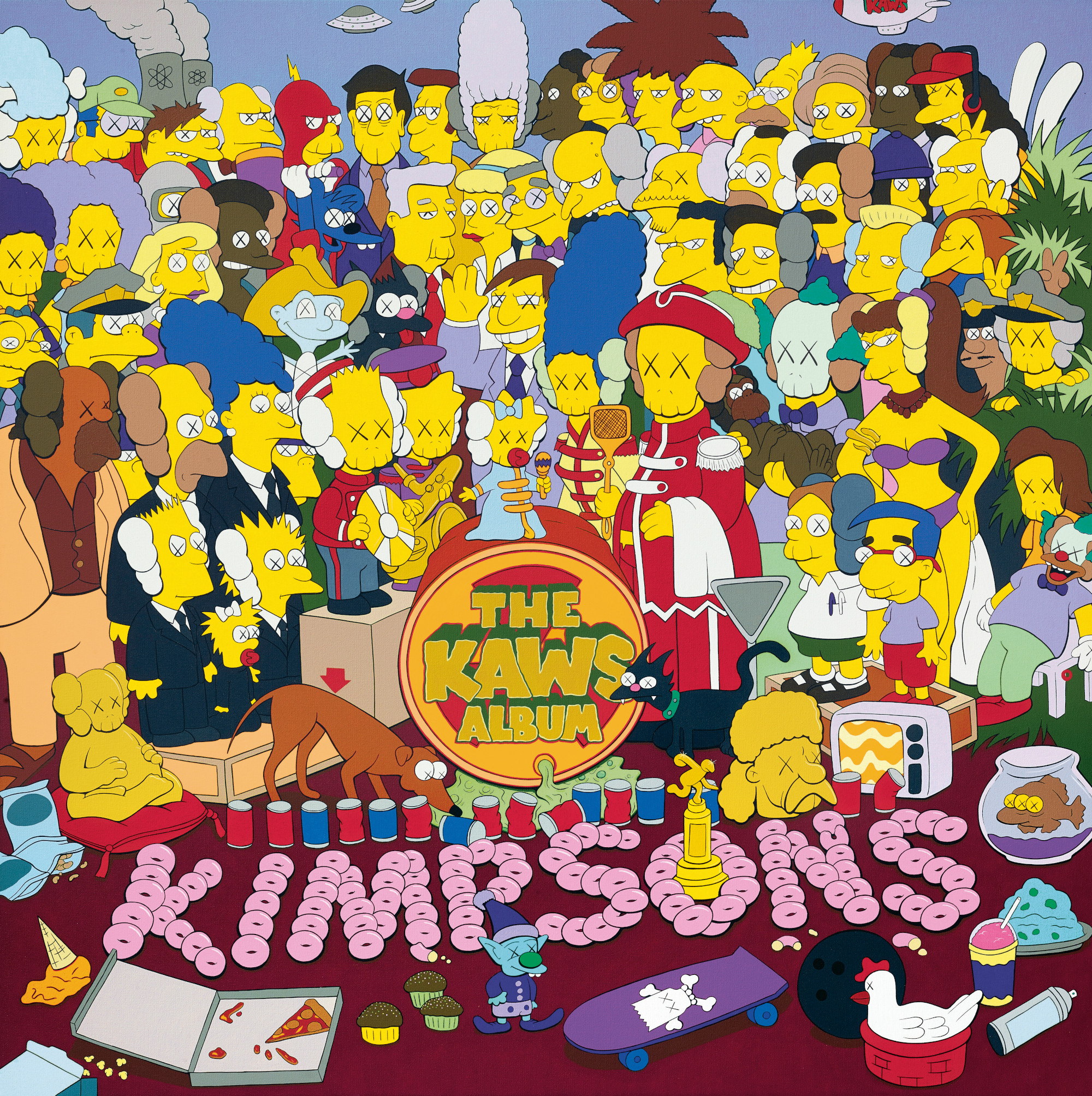 Homer Simpson, KAWS and the cartoon mind