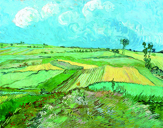 Wheat Fields After Rain (1890) by Vincent Van Gogh, as reproduced in our newly updated monograph