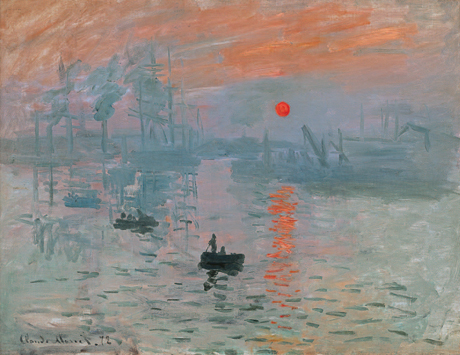 Claude Monet, <em>Impression, Sunrise</em> (1872)