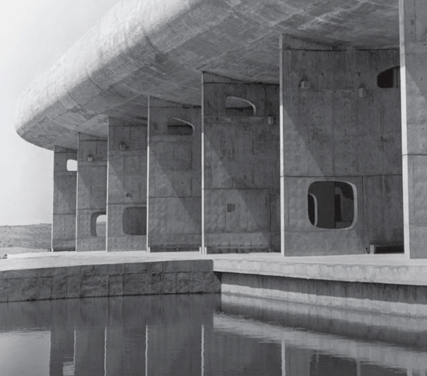 Assembly Building, Chandigarh, India, 1962 by Le Corbusier. From This Brutal World