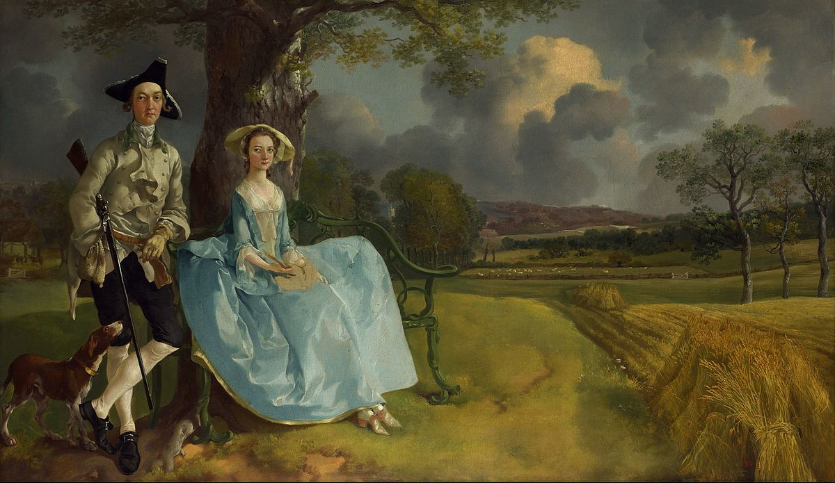 Mr and Mrs Andrews (c. 1750) by Thomas Gainsborough