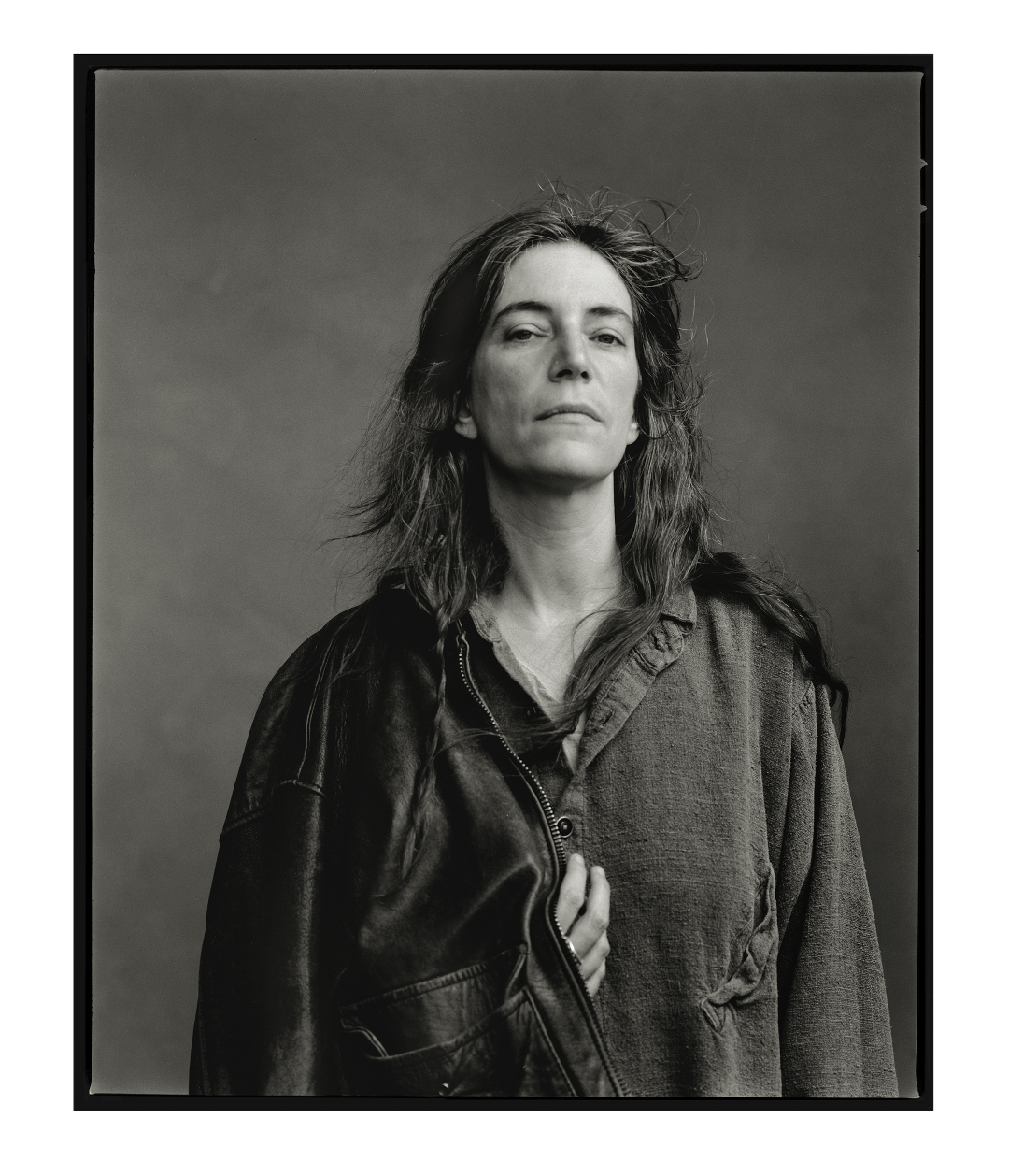Patti Smith, New York City, 1996. Photograph © Annie Leibovitz. From Annie Leibovitz At Work