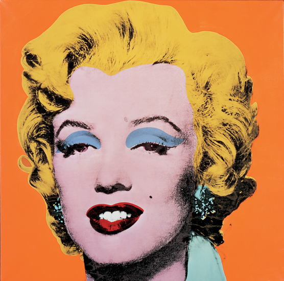 Andy Warhol, Shot Orange Marilyn (July-August 1964)