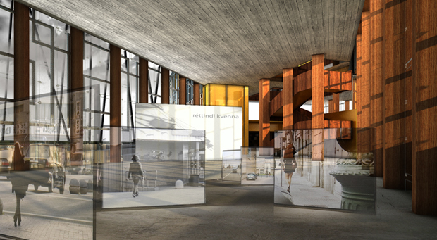 Vigdis Languages Center, Iceland - OOIIO Architecture