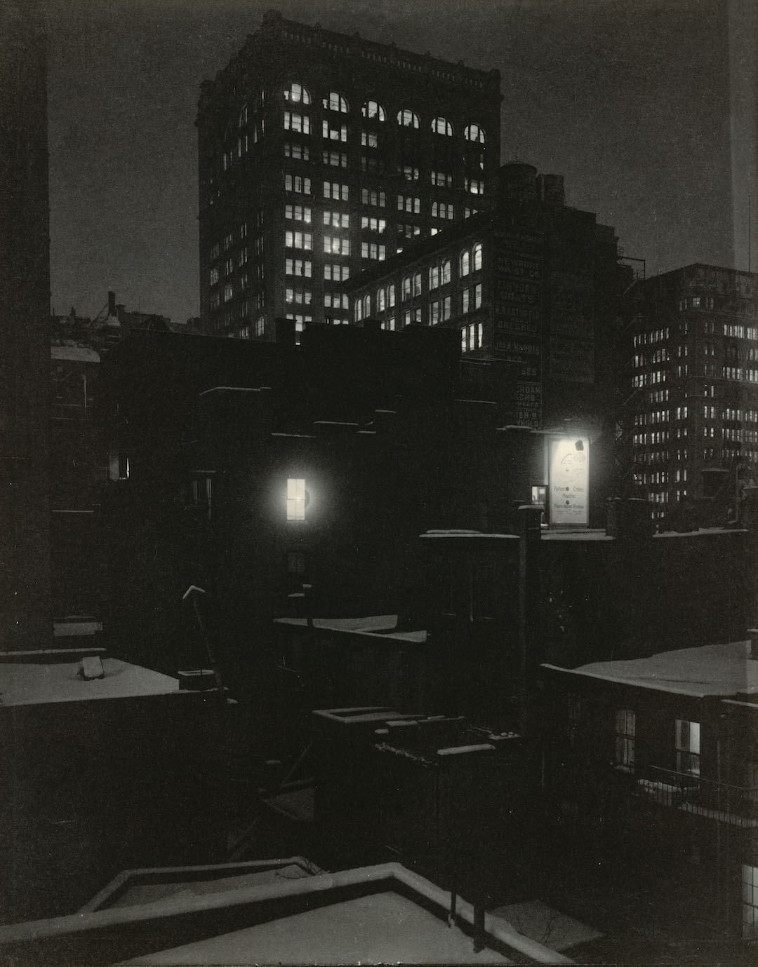 Alfred Stieglitz, From the Back Window—291, 1915