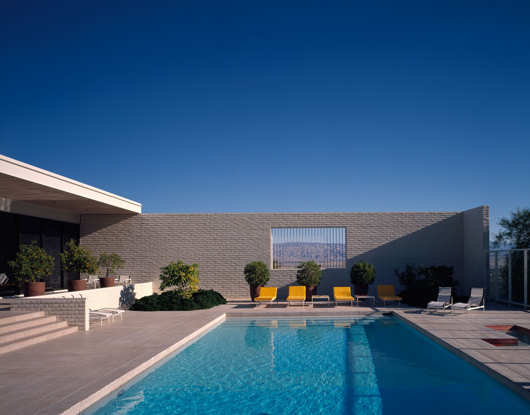 Craig Ellwood, Palevsky House, Palm Springs, 1971. Picture credit: courtesy of the Estate of Marvin Rand