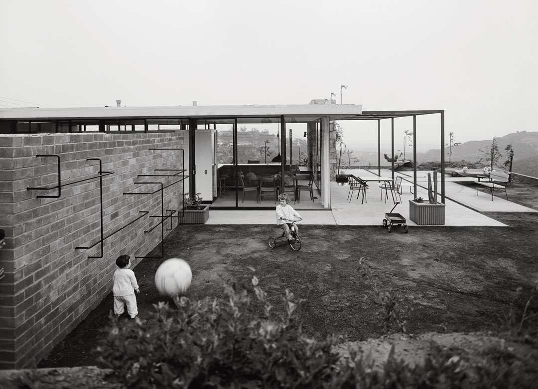 Craig Ellwood's Case Study House #16, Bel Air, 1953, photographed by Marvin Rand and featured in California Captured