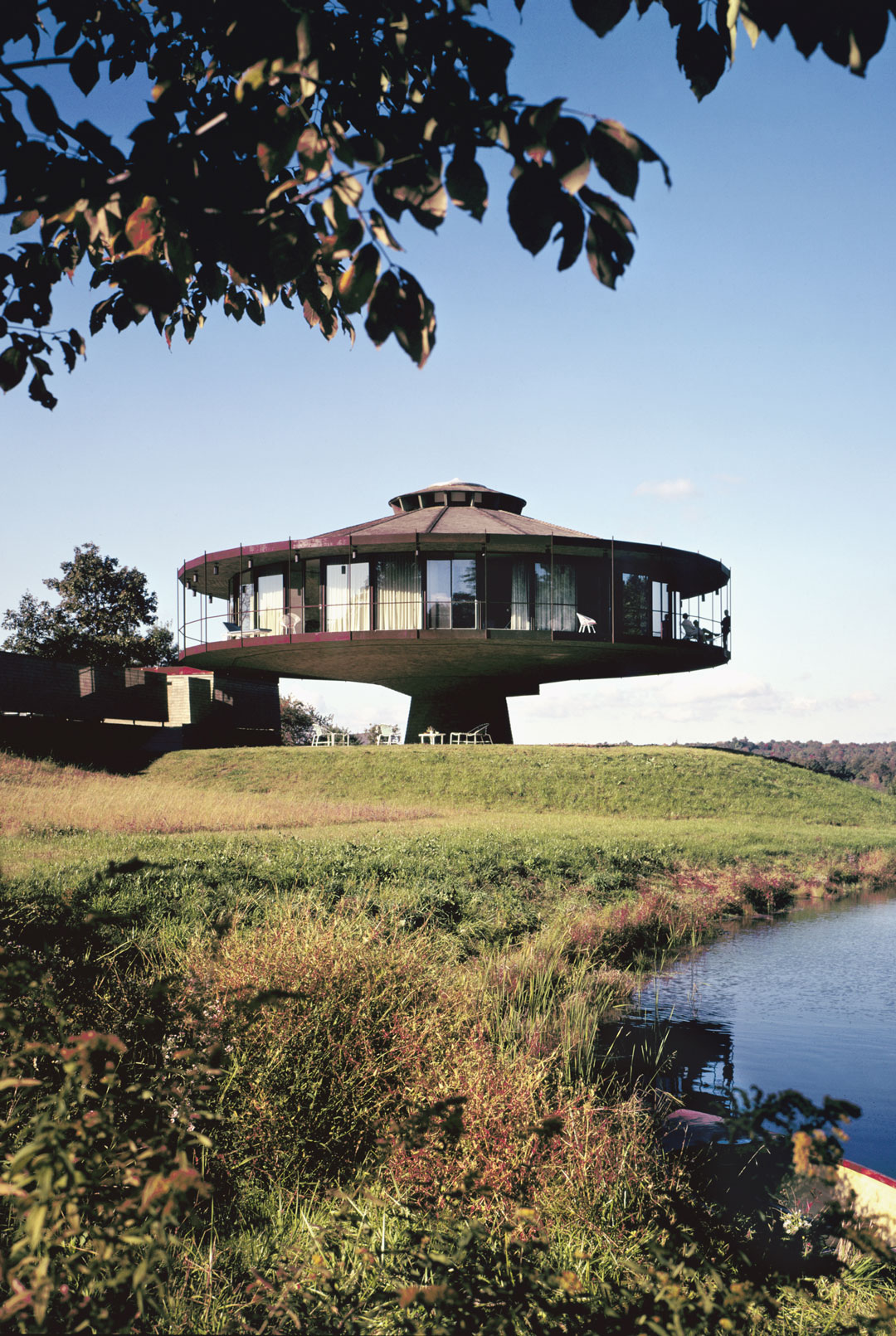 Round House, Richard Foster, Wilton, Connecticut, (US), 1968