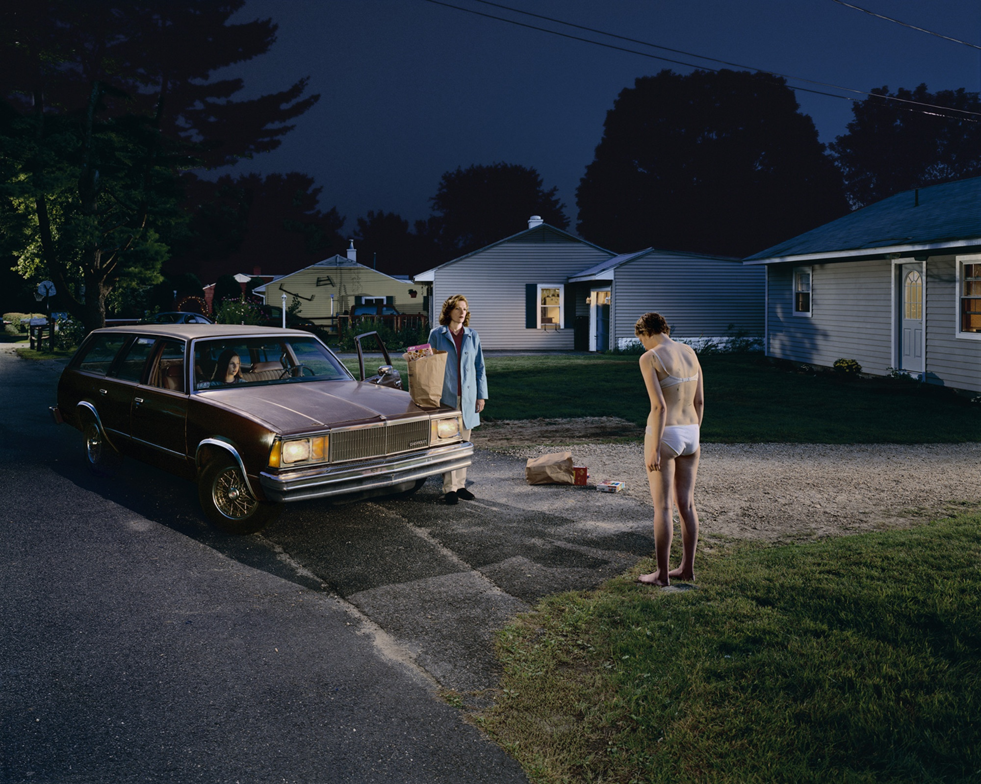 Gregory Crewdson Penitent Daughter 2001-2 Courtesy White Cube From Body of Art