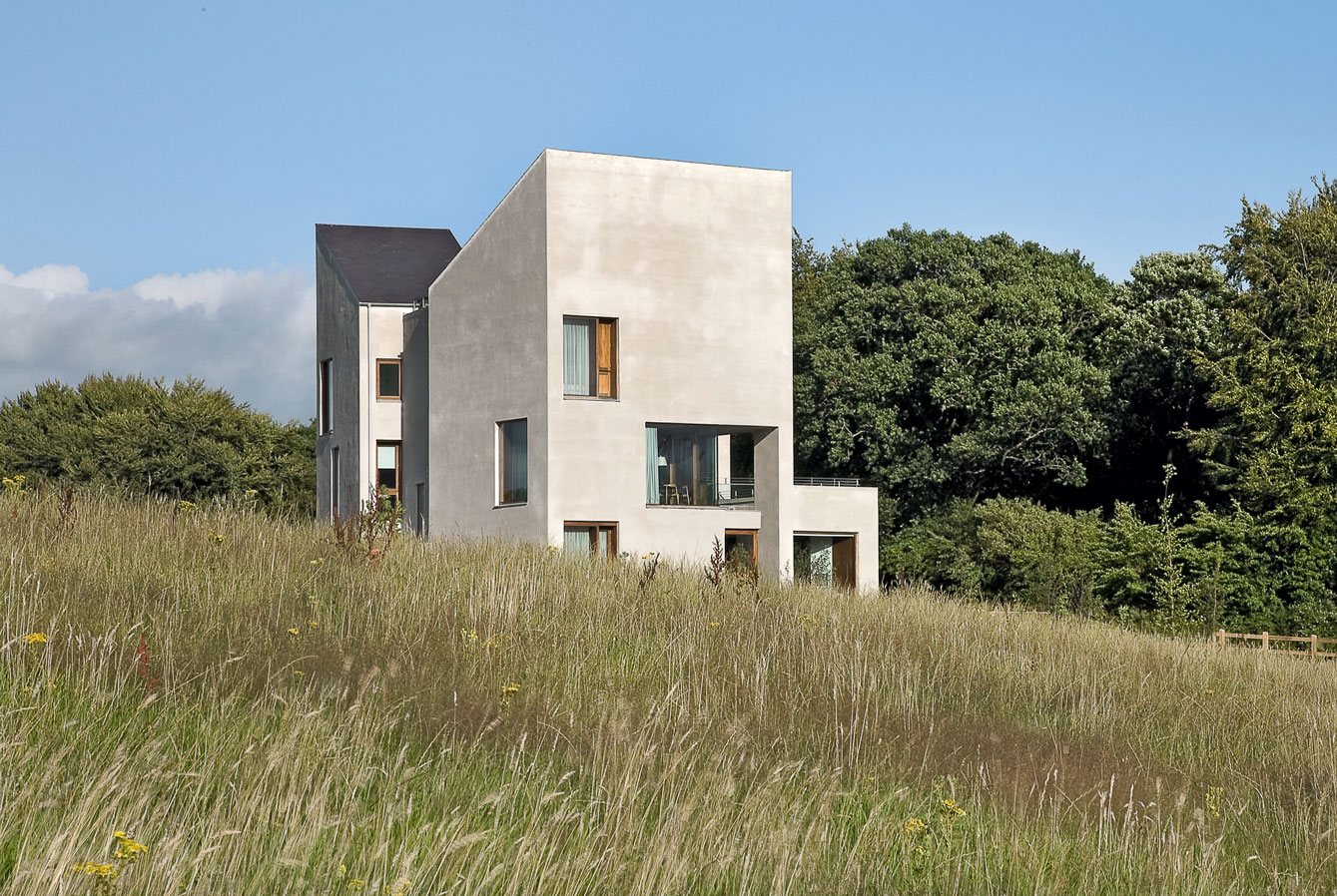 President's House, University of Limerick, Limerick, Grafton Architects, 2006-11; northeast view. Photo by Alice Clancy