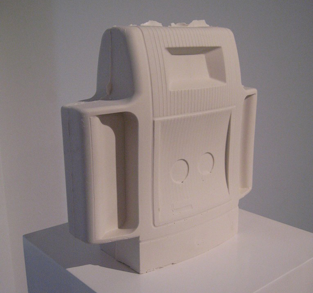 Ceramic Polaroid Sculpture (2012) by Adam Broomberg and Oliver Chanarin