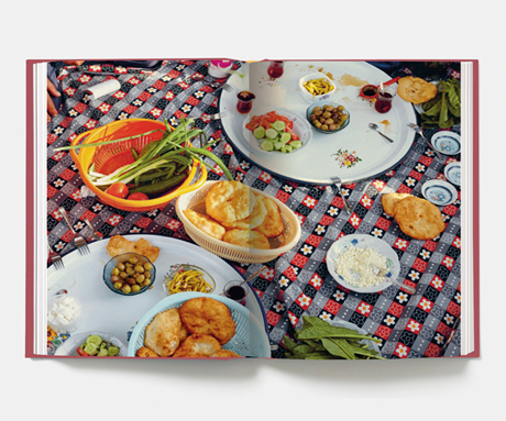 A spread from The Turkish Cookbook