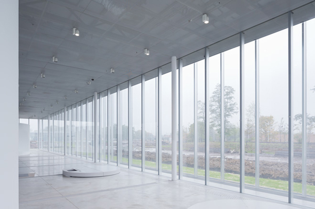 Sanaa designs new louvre annexe architecture agenda for Louvre lens museo