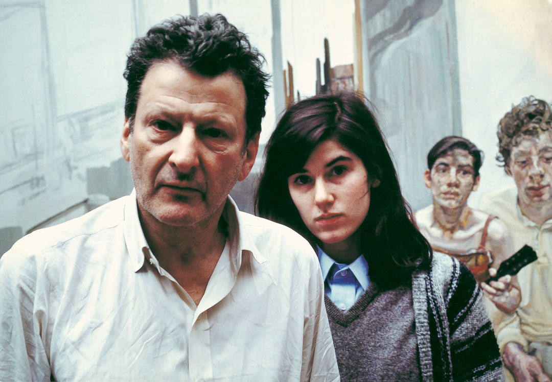Bruce Bernard: Lucian Freud and Bella Freud, 1983.  © Estate of Bruce Bernard