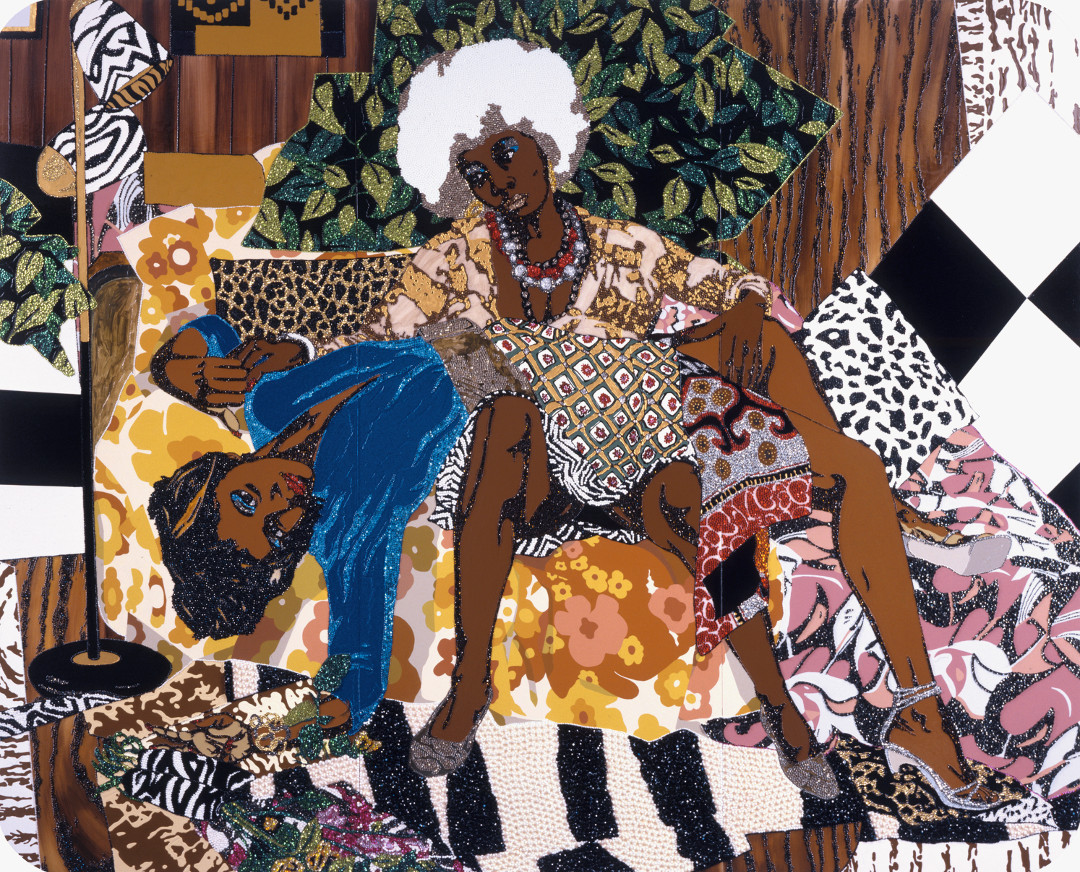 Who knew Mickalene Thomas did erotica?