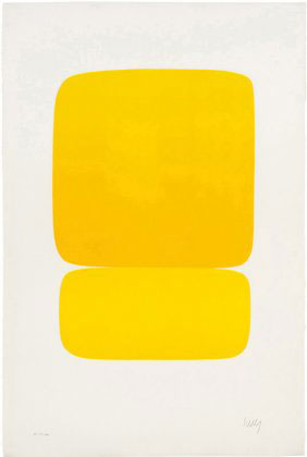 Yellow over Yellow 1964-65 - Ellsworth Kelly