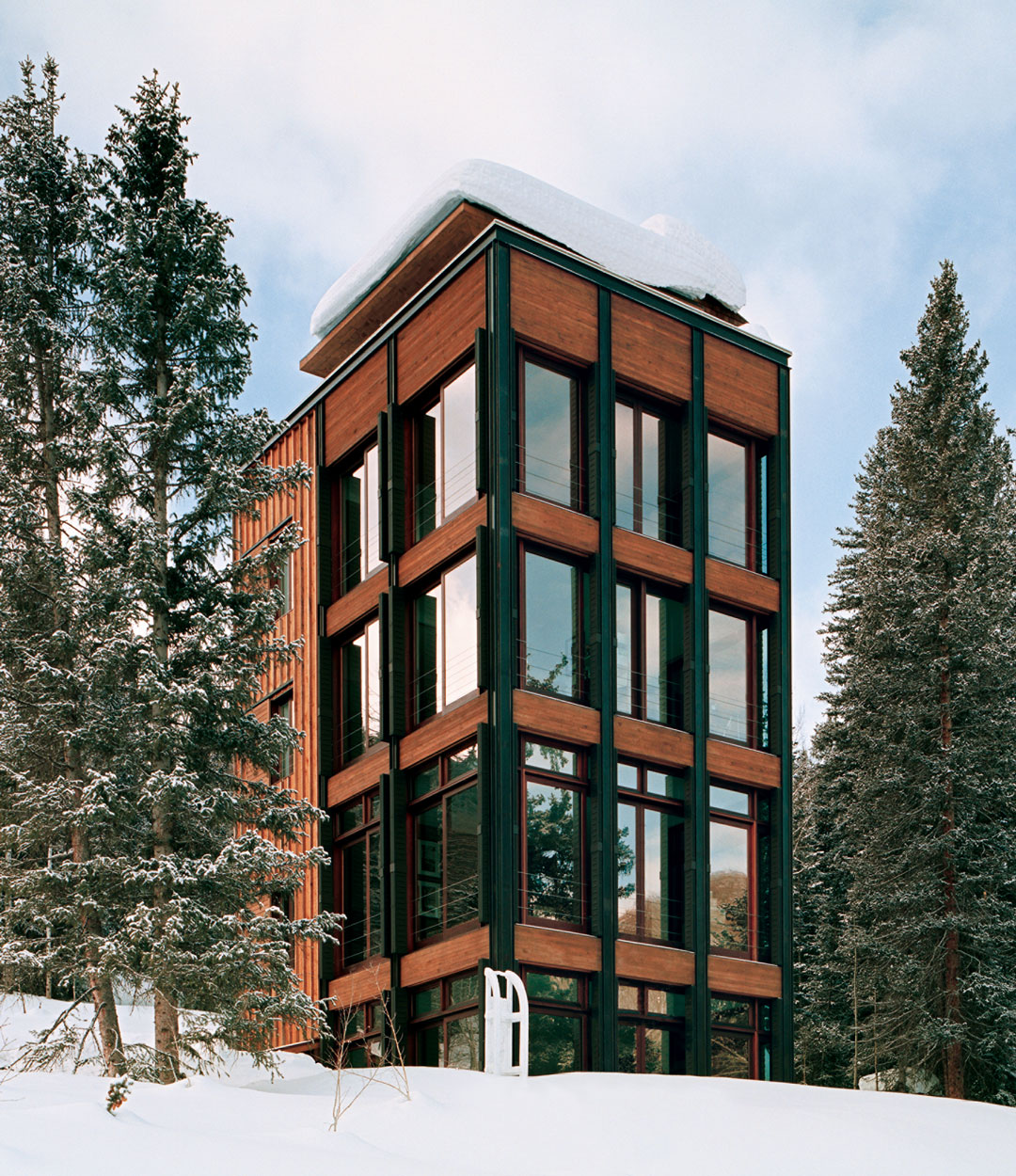 Annabelle Selldorf, Pika House, Dunton Springs, Colorado, USA, 2004. Photo by Thomas Loof. Courtesy of Selldorf Architects