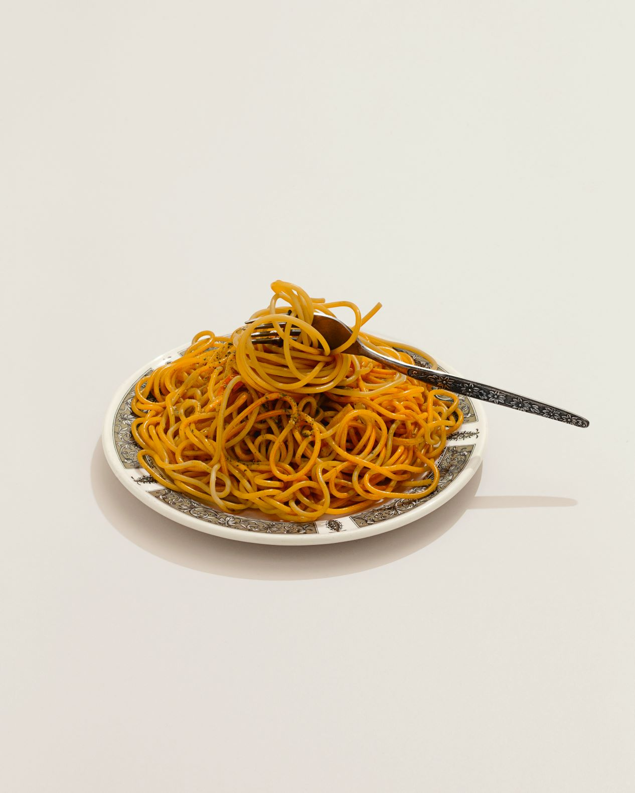 A Wax Plate of Spaghetti. From Paul Smith