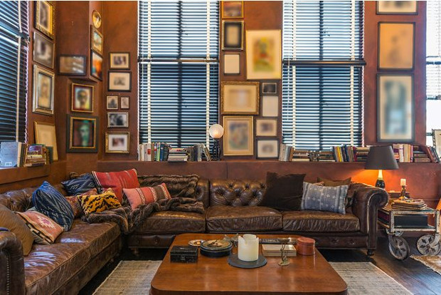 Perfect Eastern Columbia Penthouse Collection Of Johnny Depp. Image Courtesy Of  Partners Trust