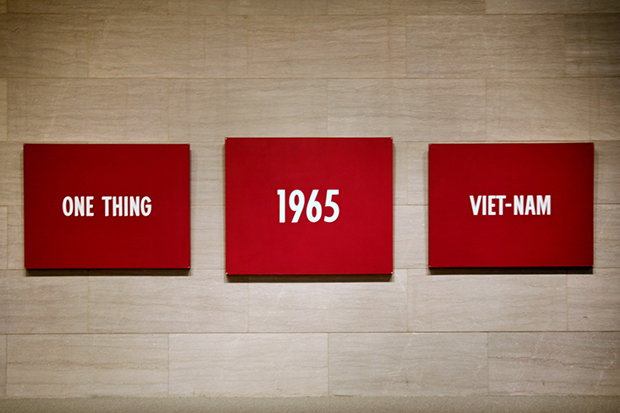 One Thing, 1965, Viet-Nam by On Kawara