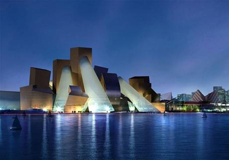 21st Century Architecture. The Guggenheim Abu Dhabi, by Frank Gerhy