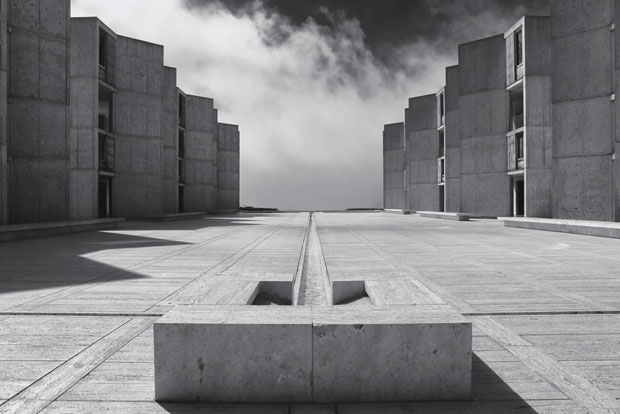 Salk Institute, La Jolla, California, USA, 1965 by Louis Kahn. From This Brutal World
