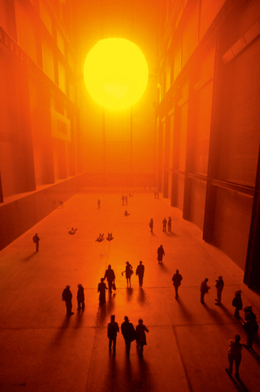 Billedresultat for olafur eliasson tate