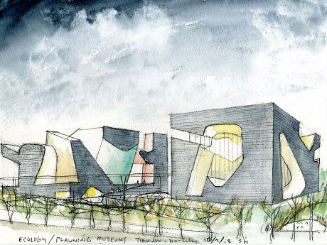 Steven holl 39 s yin yang museums architecture agenda for Architecture yin yang