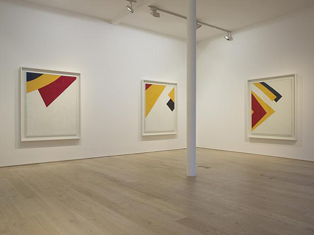 Keith Coventry Junk Paintings 2012, Pace Gallery, Installation view