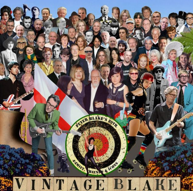 Peter Blake's 2012 remake of the Beatles cover