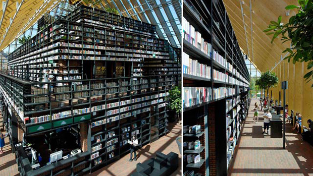 Book Mountain, Rotterdam - MVRDV