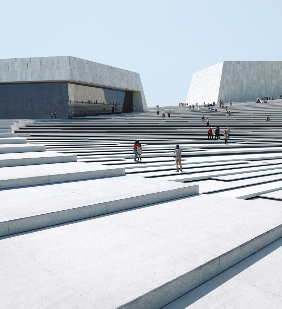 Shanghai Grand Opera House by Snøhetta. Image by MIR and Snøhetta, courtesy of Snøhetta
