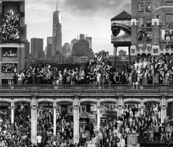 JR features one thousand New Yorkers in his epic new work