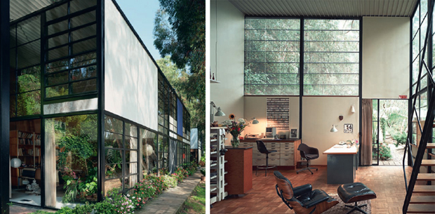Eames House, Pacific Palisades, Los Angeles, California, United States. Architect: Charles Eames