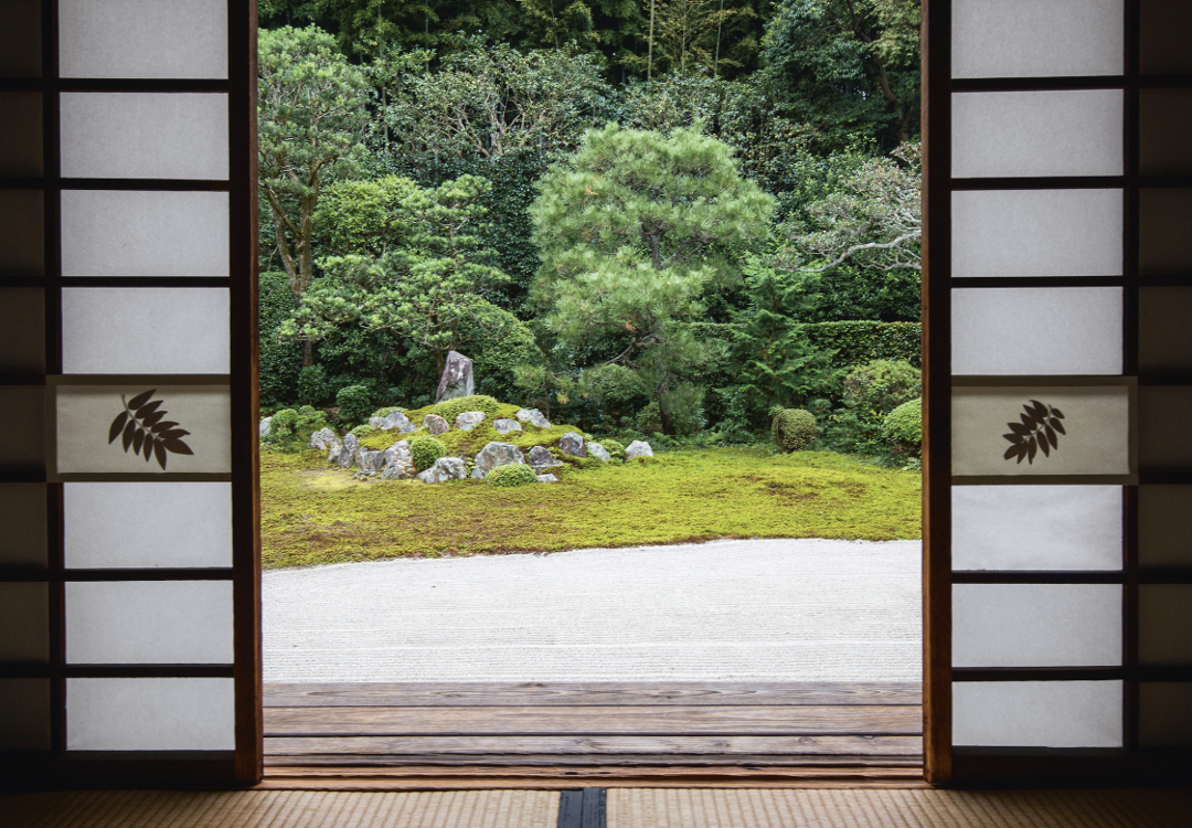 Funda-in, Tfuku-ji Complex, Rinzai Zen, Kyoto. Photo by John Lander