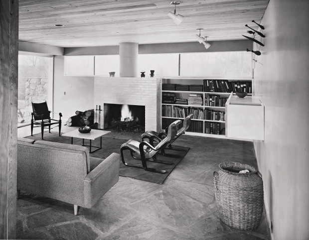 Breuer House New Canaan II Connecticut 1951 By Marcel