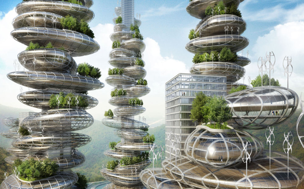 Asian Cairns, Shenzen - Vincent Callebaut