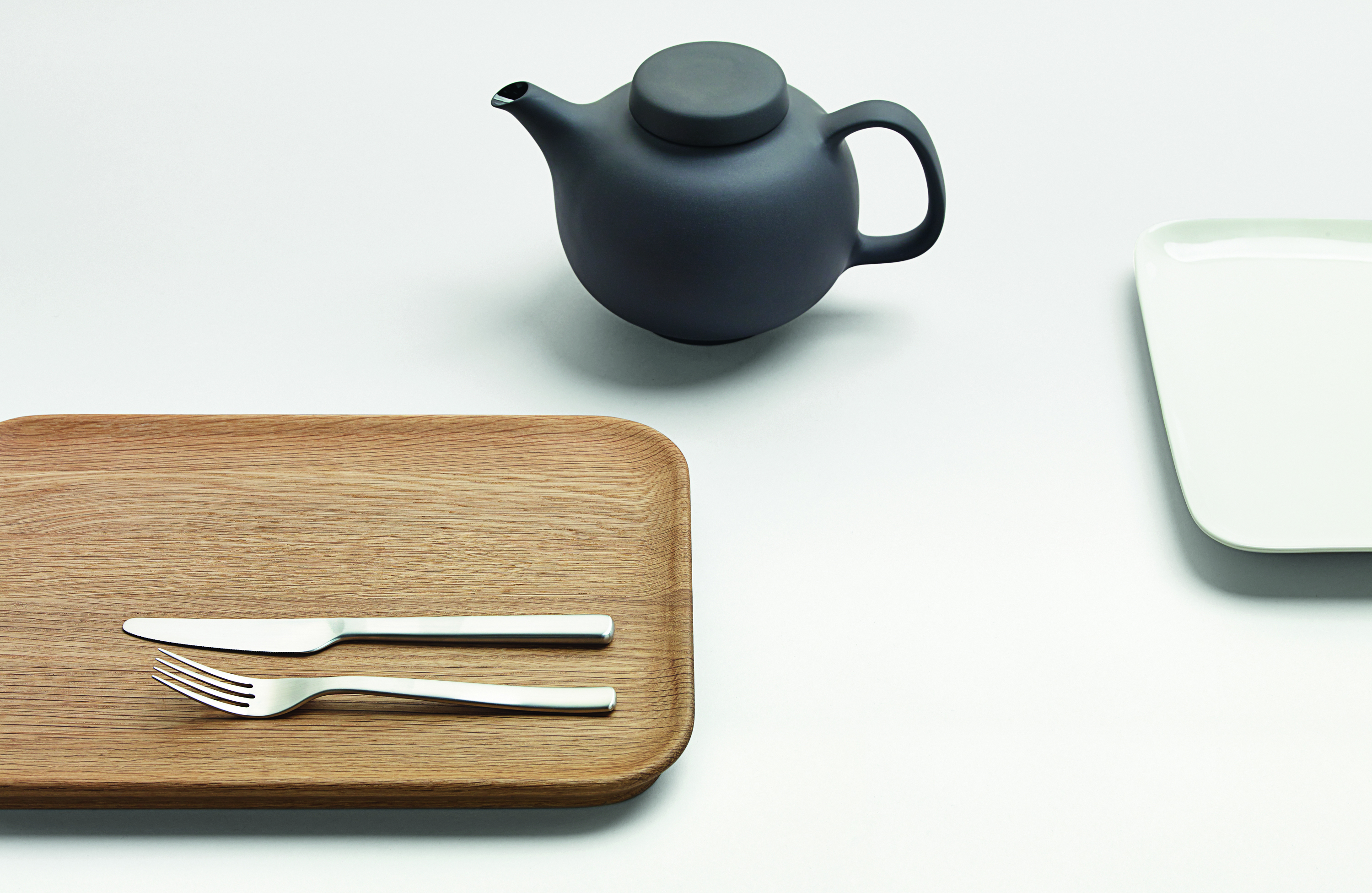 Olio tableware by Barber Osgerby, from our book Barber Osgerby, Projects