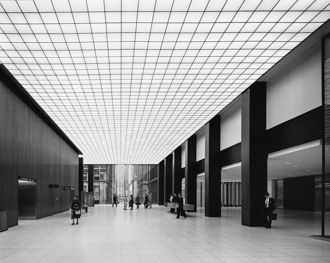 Ezra Stoller: Skidmore, Owings & Merrill, Union Carbide (1960), New York,  NY, 1960