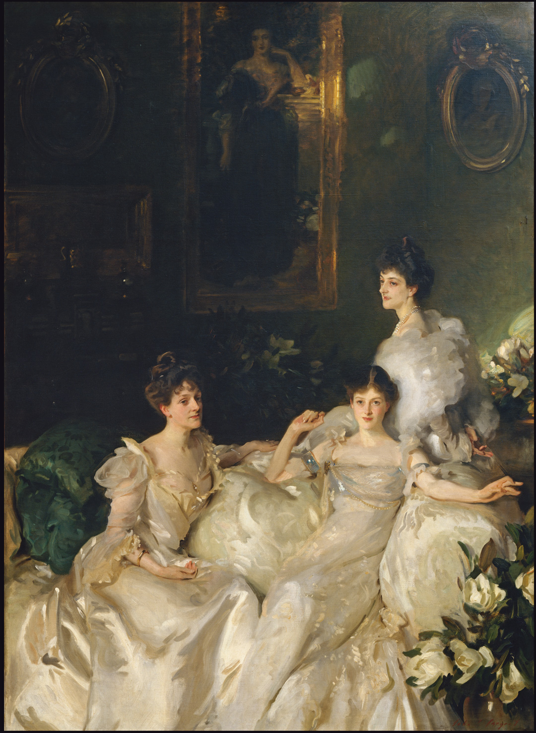 The Wyndham Sisters (1899) by John Singer Sargent, as featured in The Artist Project