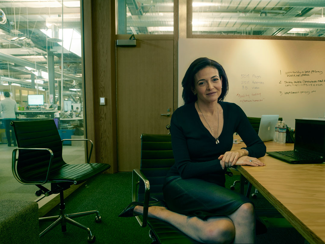 How Annie Leibovitz captured Sheryl Sandberg's focus ...
