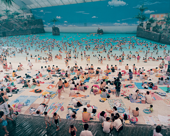 Martin Parr, Ocean Dome (1996), Miyazaki, Japan, from the series Small World