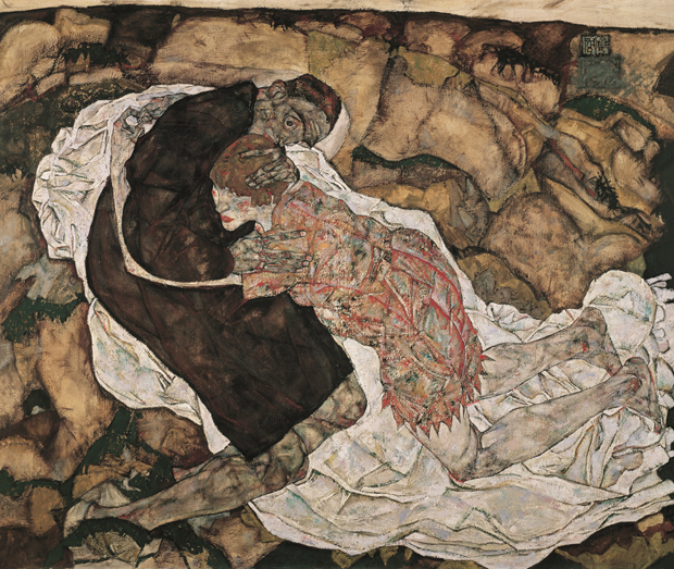 Death and the Maiden (1915-16) by Egon Schiele