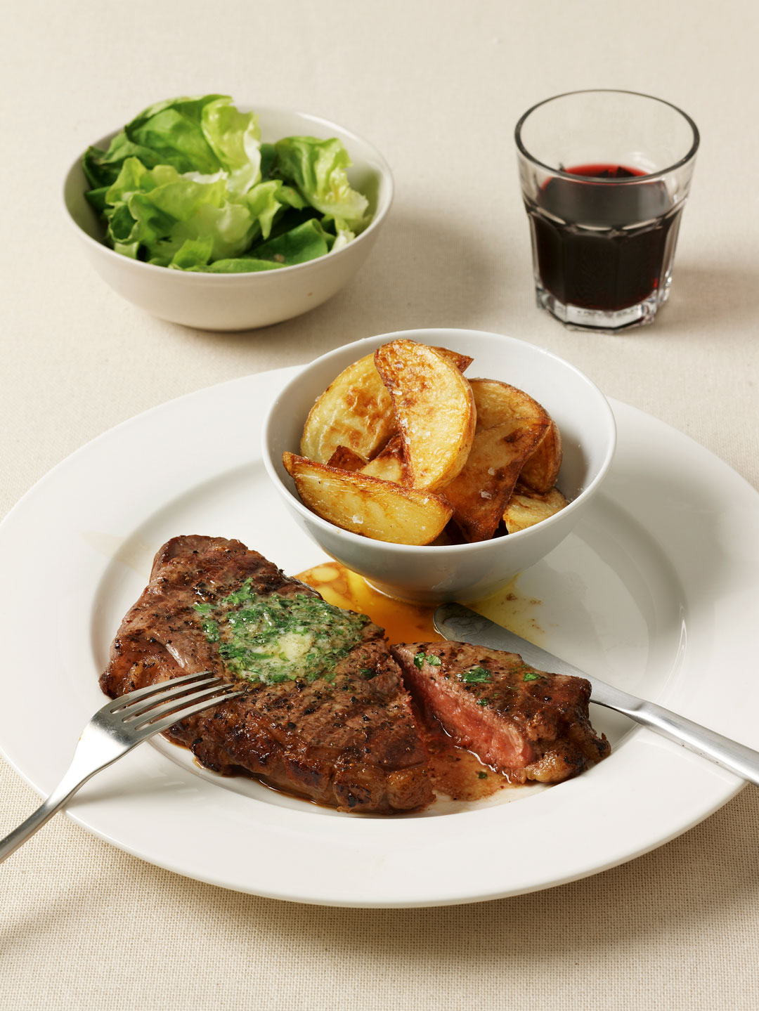 Chargilled steak