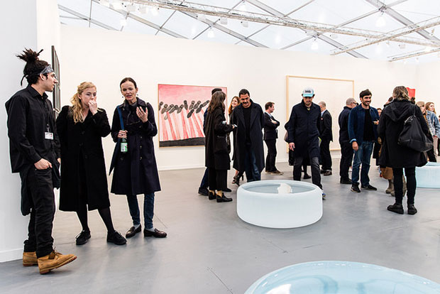 Hauser & Wirth, Frieze New York 2016. Photograph by Mark Blower. Courtesy of Mark Blower/Frieze.